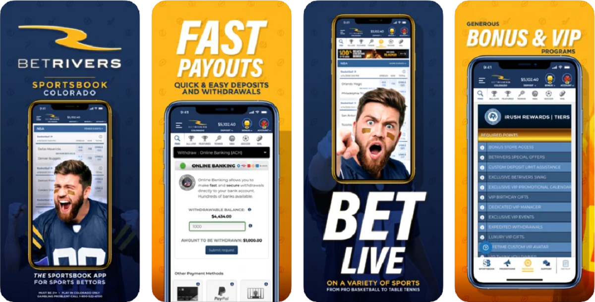 BetRivers Colorado App