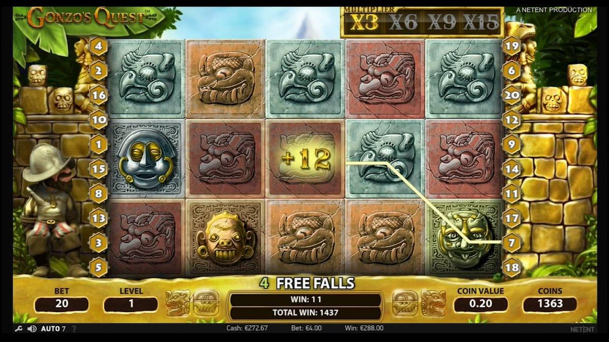 online slot gonzos quest