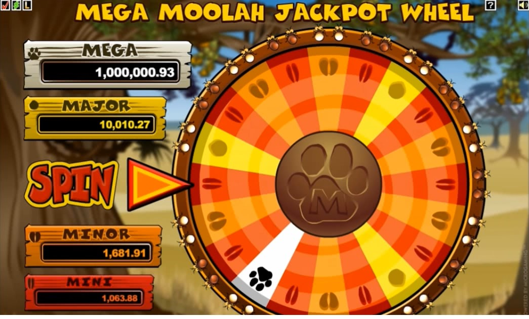 how does mega moolah pay out