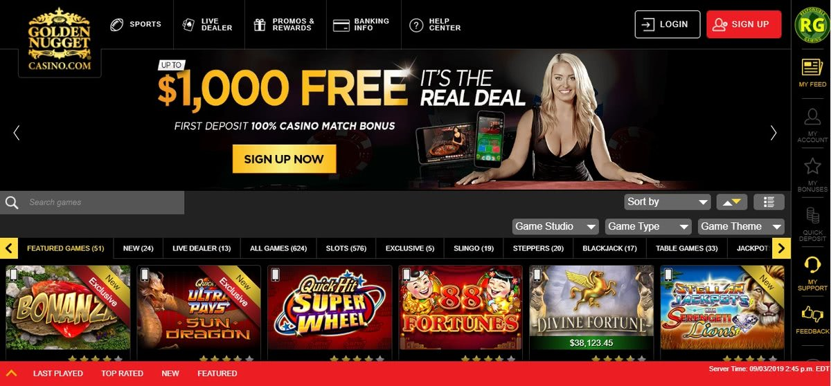 best us slots online casino