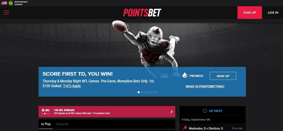 poitsbet nj spread betting