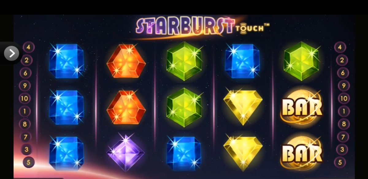 starbursts on mobile