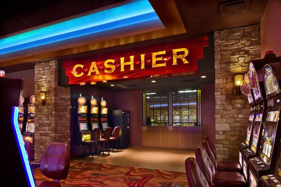 Casino cashier cage
