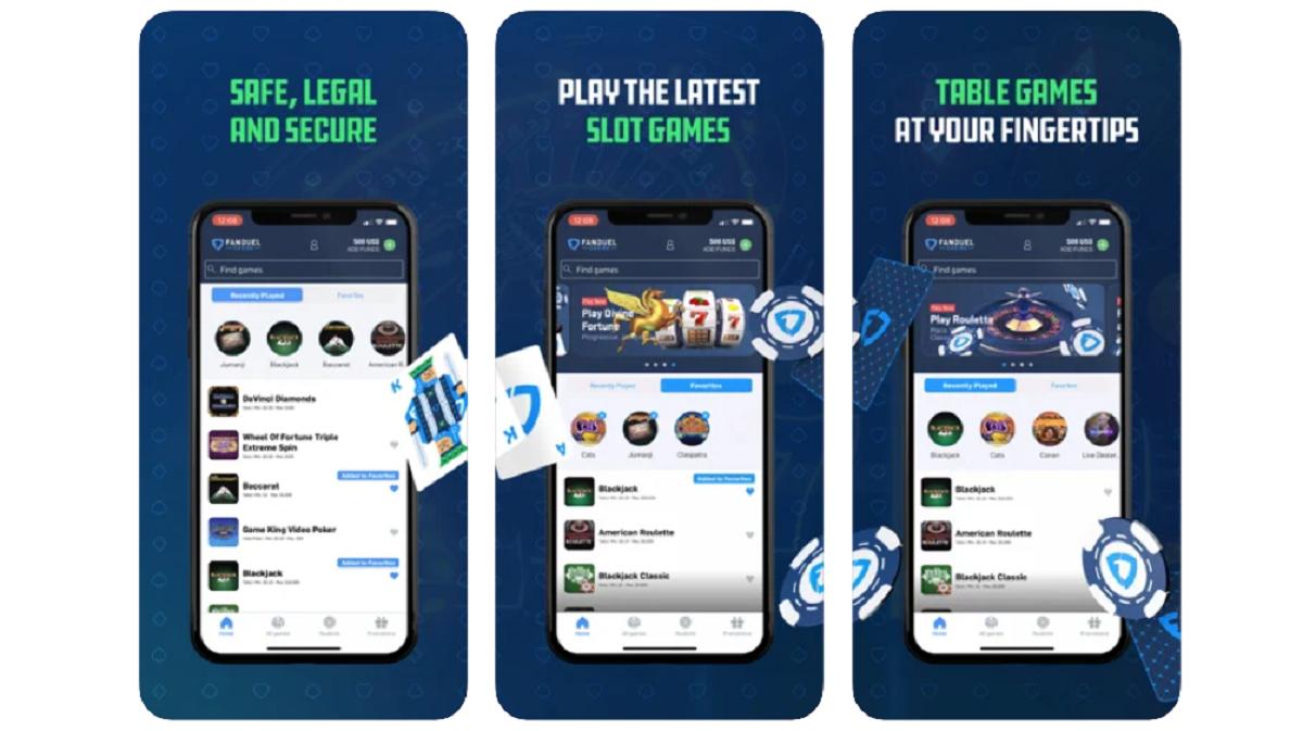 FanDuel Casino PA app