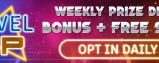 Win cash and free spins weekly on the Golden Nugget