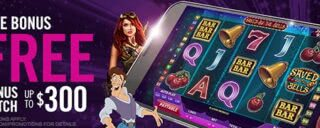 Join Harrahs Casino and get a welcome bonus of up to $300