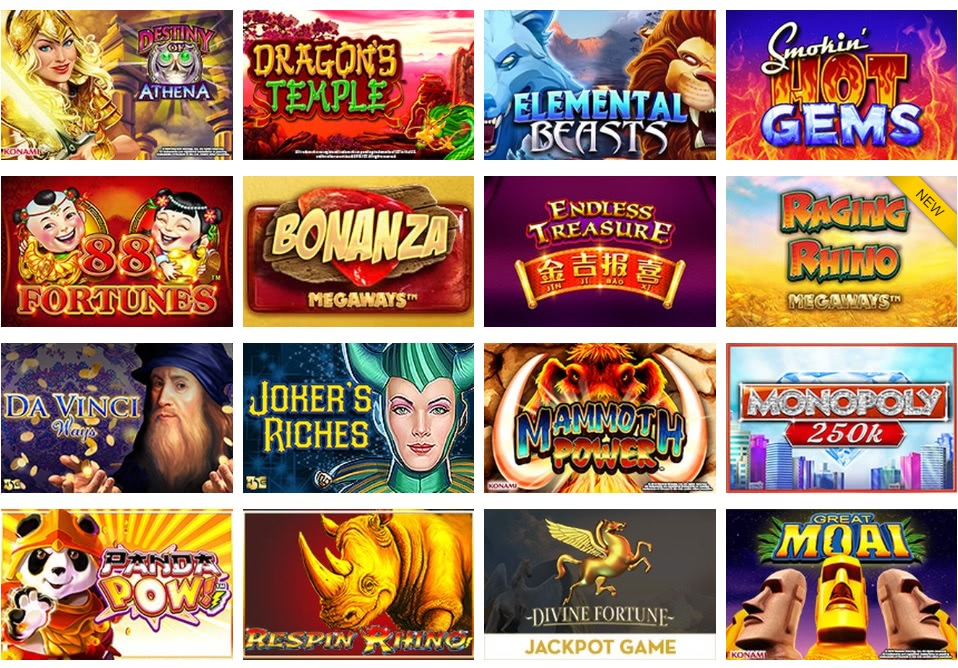 top casino game selection US