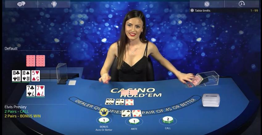 Live Casino Hold'em on Golden Nugget Casino NJ