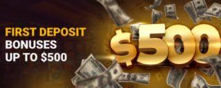 Get up to $500 bonus cash through the pala casino deposit bonus