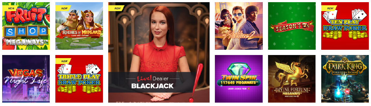 PlayLive! Casino Games