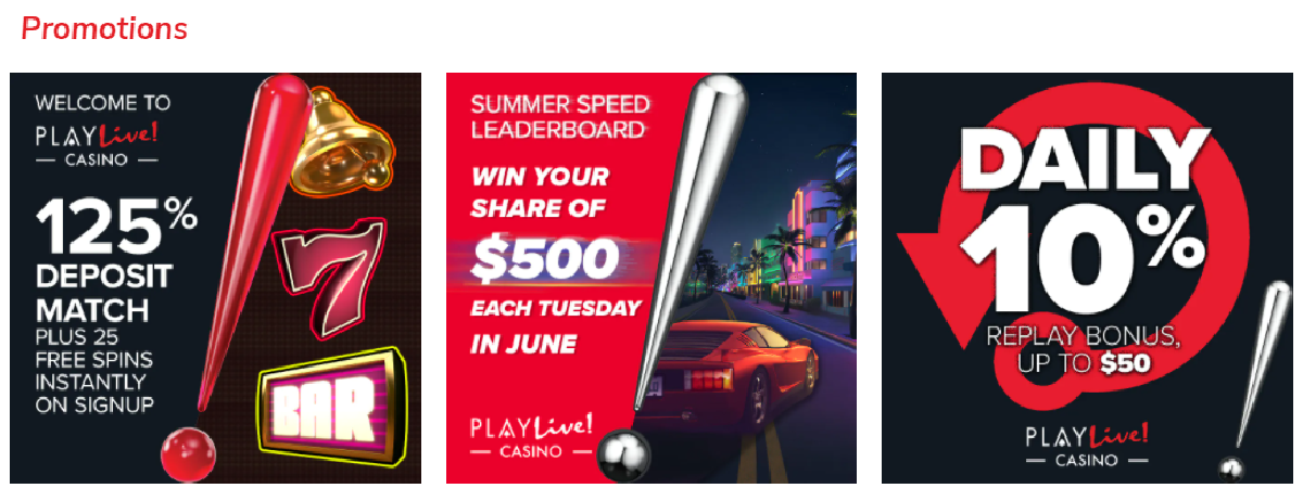 PlayLive! promotions