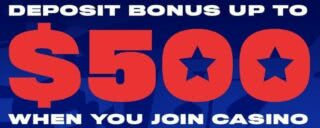 BetAmerica 25% up to $500 welcome offer