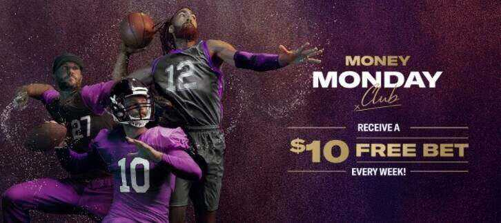 Get a $10 free bet every Monday on BetmMGM