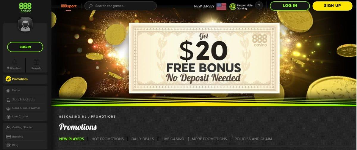 best no deposit bonuses wv