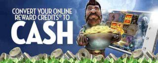 Earn comps, and then cash on caesars online casino