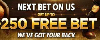 Join golden nugget sportsbook to get up to a $250 free bet on your first wager