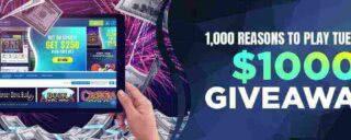 Win Bonus Cash Every Wednesday in March on Resorts Online Casino