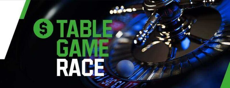 Play Tons of Table Games to win up to $1,000 on Unibet
