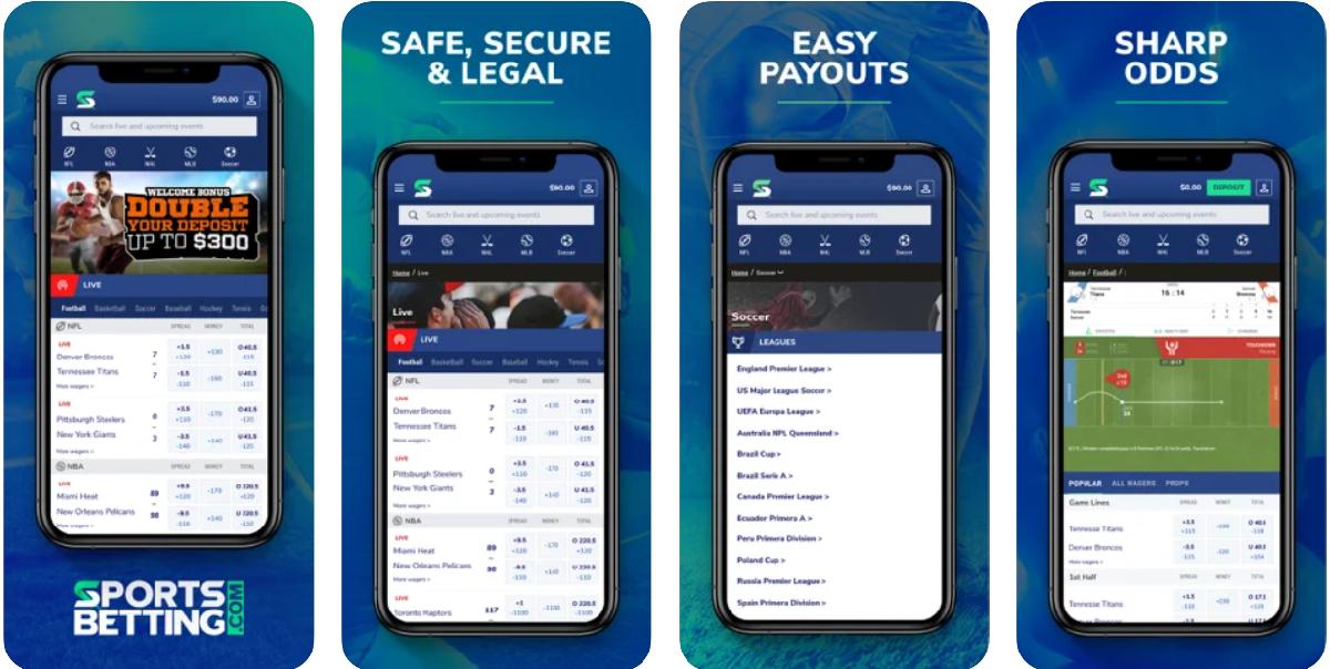 SportsBetting,com App
