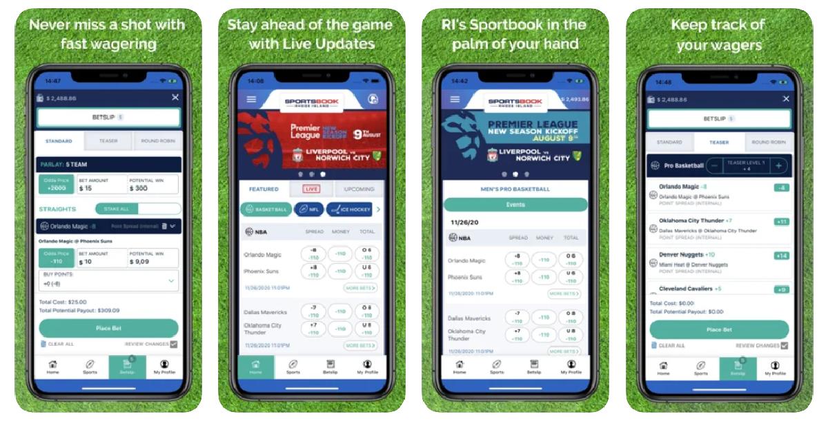 Sportsbook Rhode Island App