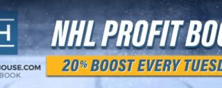 20% odds boosts on NHL games every March Tuesday on Sugarhouse