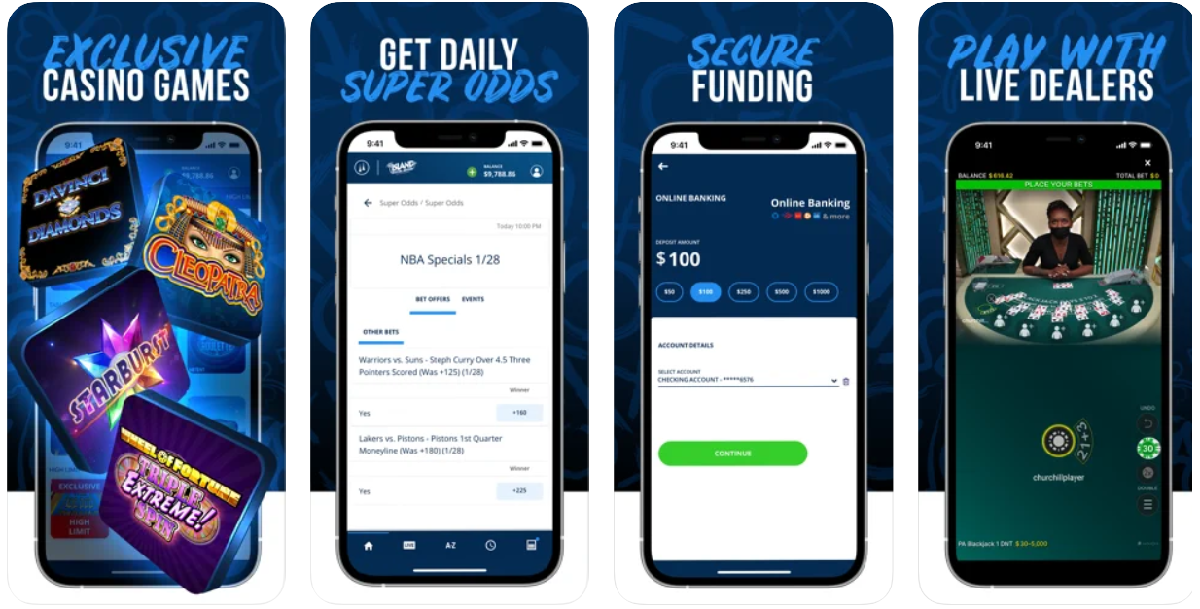 TwinSpires Casino PA app