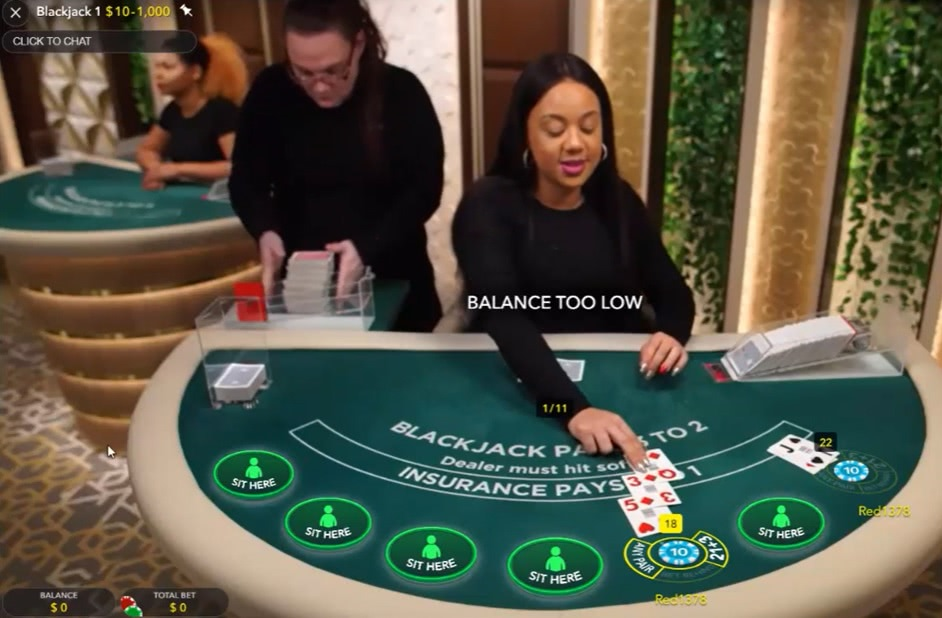 top live dealer casinos nj