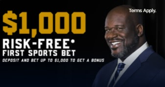 Join WynnBET to get a $1,000 risk free bet