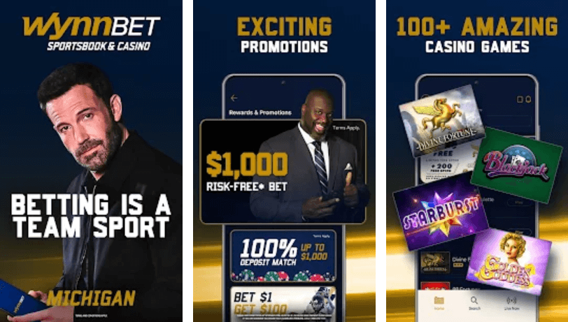 WynnBet Gambling app